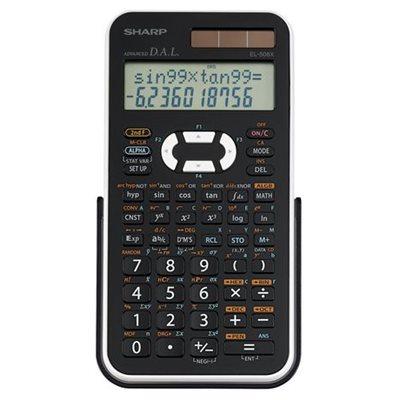 SHARP Calculatrice scientifique EL546XBWH