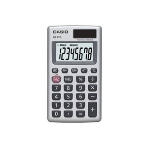 CASIO Calculatrice de poche HS-8VA